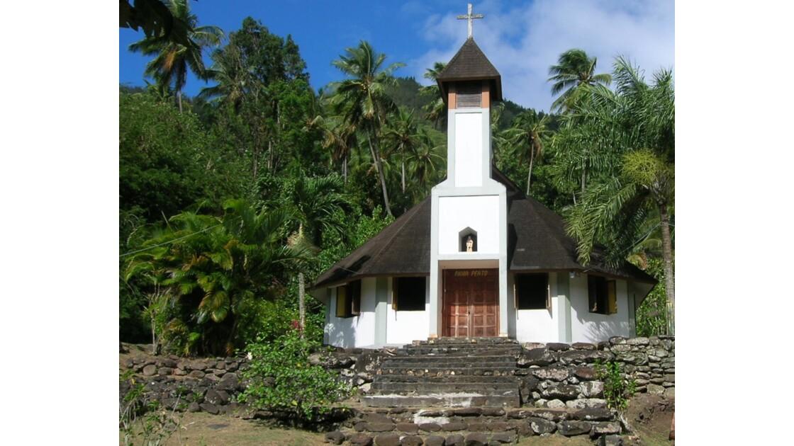 Eglise Sainte Anne  Iles Marquises