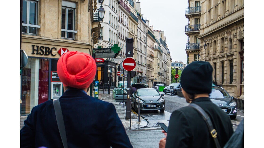 Un dimanche dans les rues de Paris