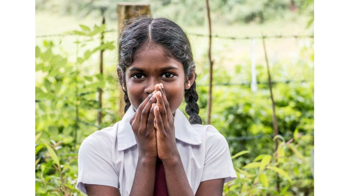 Portrait d'une écolière