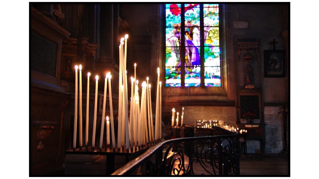 Rochefort en Terre - Eglise Collégiale Notre dame de la Tronchaye