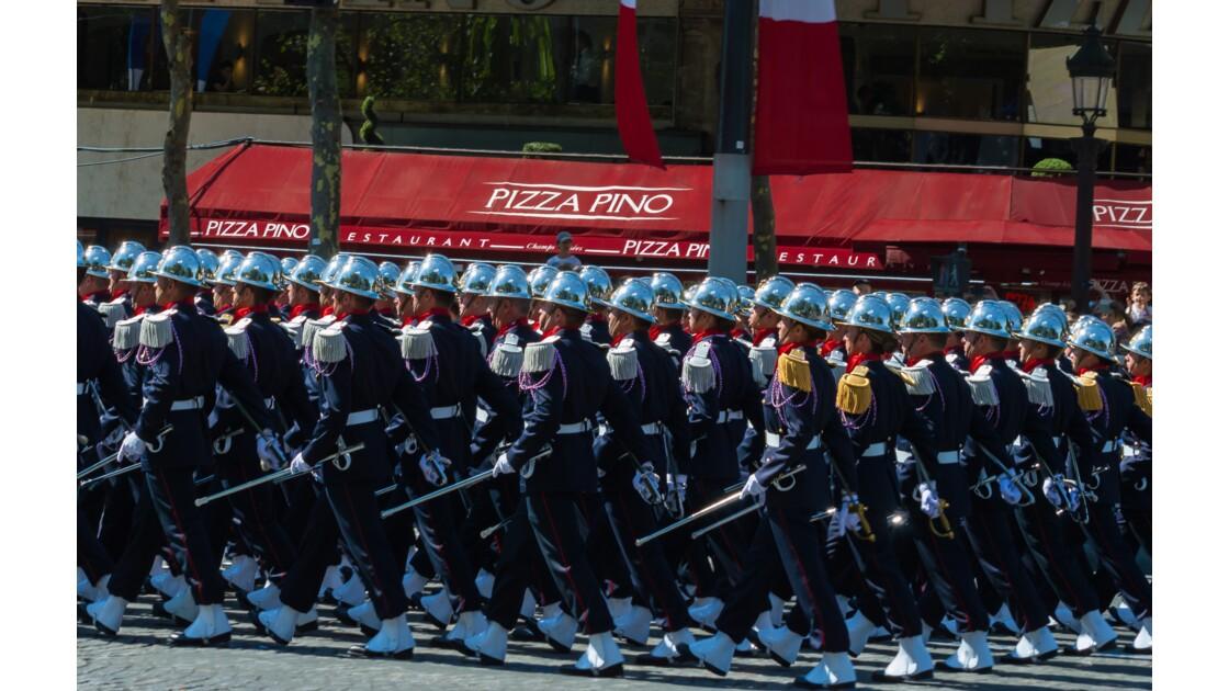 Paris: Le défilé du 14 juillet