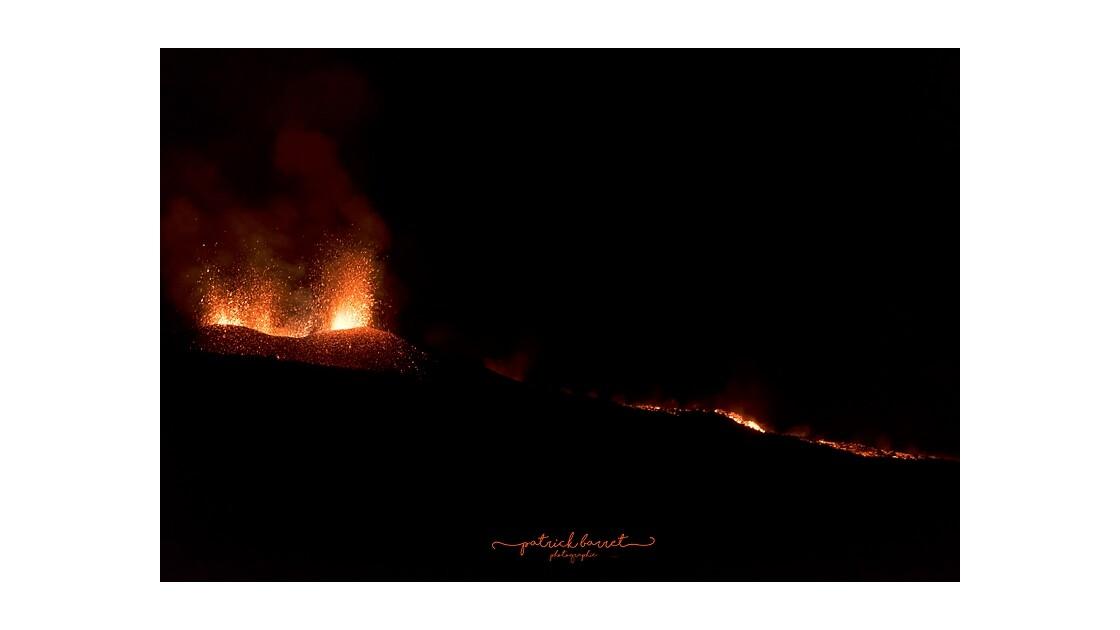 Éruption du Piton de la Fournaise 14 juillet