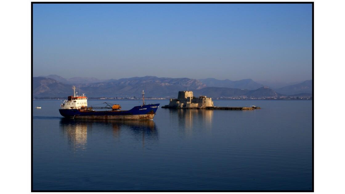 Ναύπλιο (Nauplie) - Fort du Bourtzi, lumière du matin