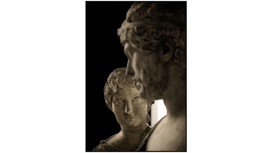 Paris - Le Louvre, Salle 24 (art romain), Mars et Venus