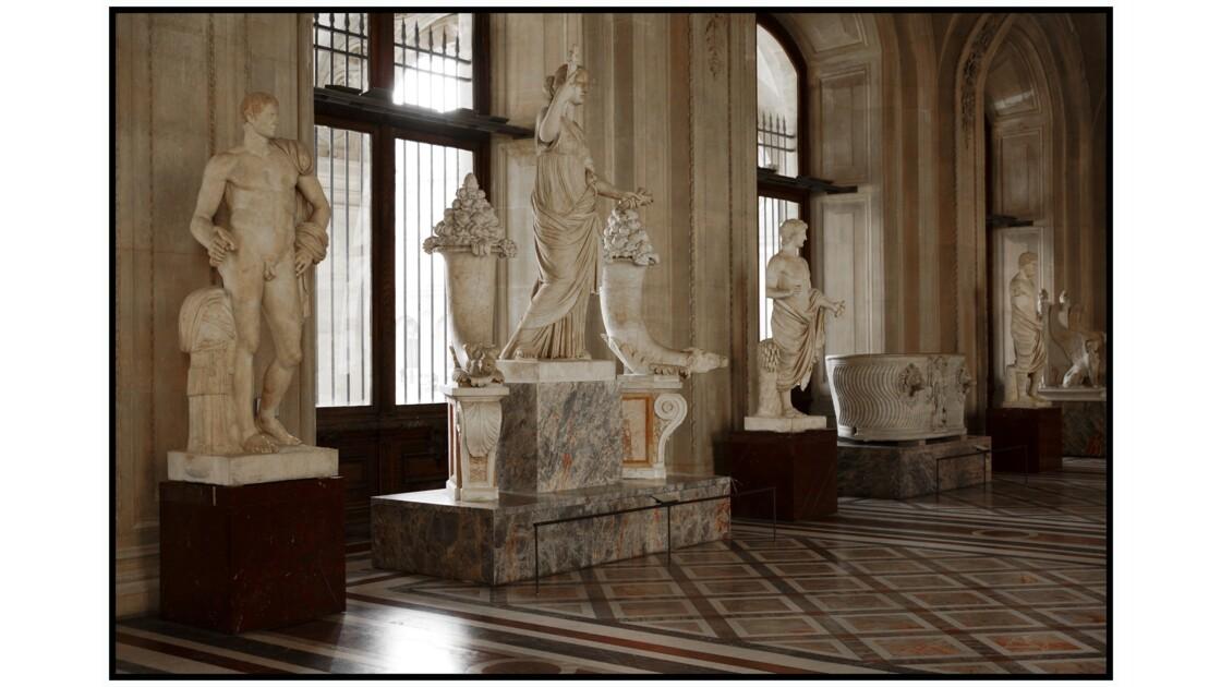 Paris - Le Louvre, Galerie Daru