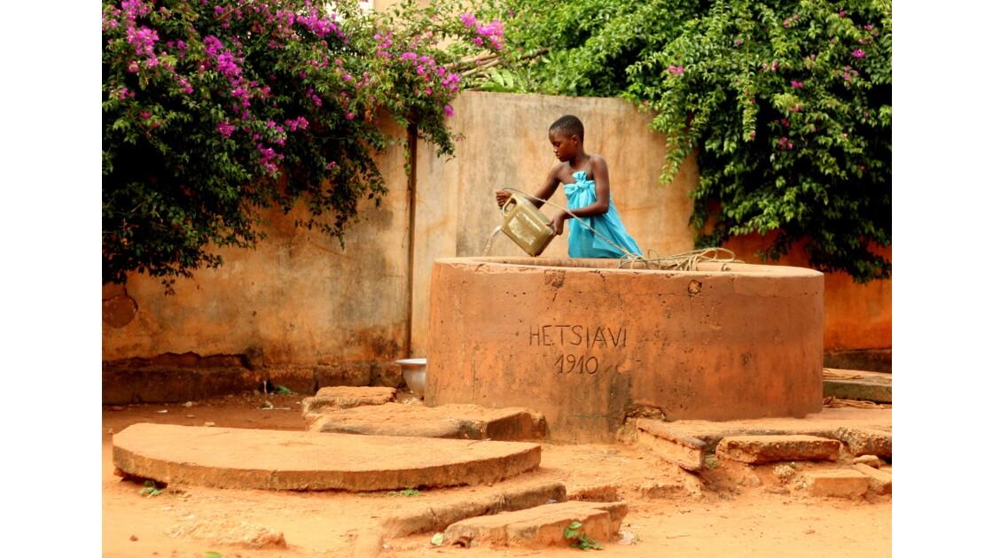 Sur la route d'Alokoegbé