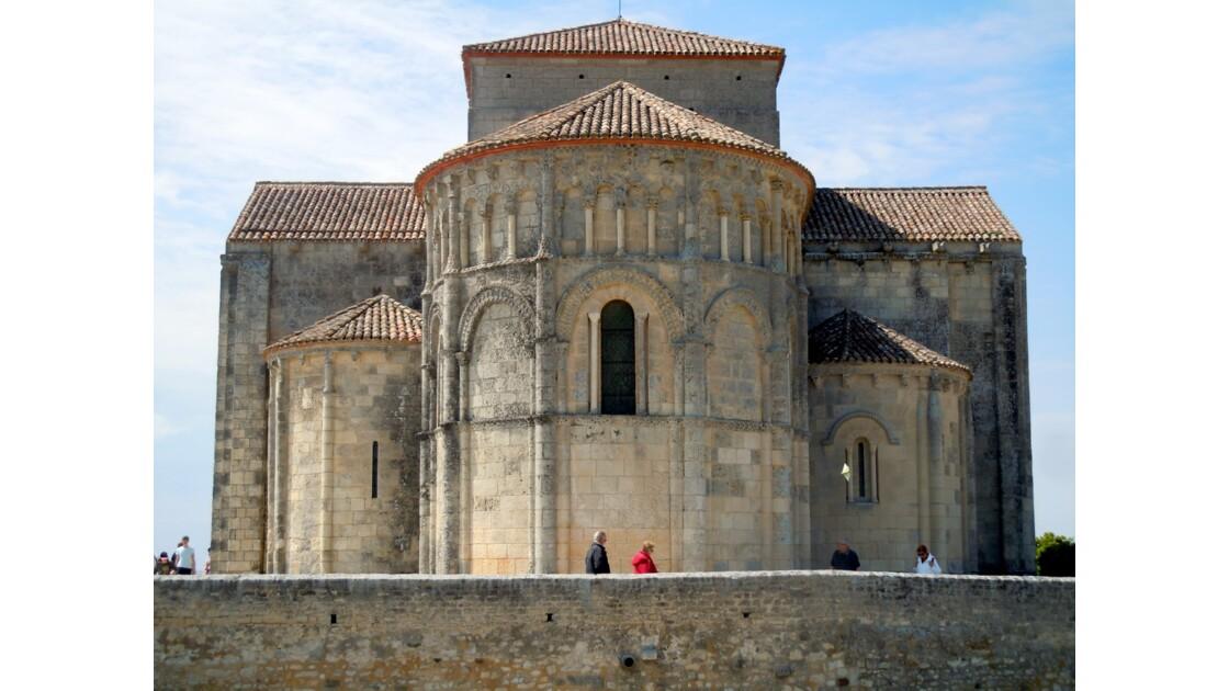 Eglise Ste Radegonde de Talmont Charente-Maritime