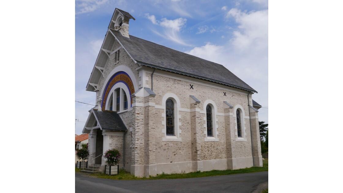 Chapelle à Pornic