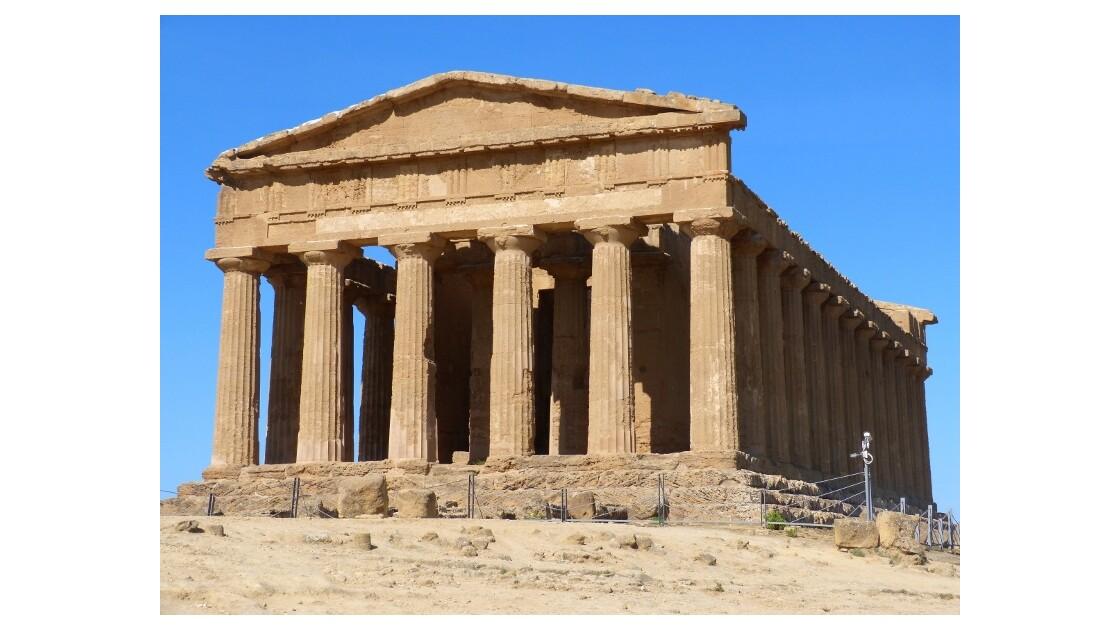 vallée des temples Agrigente Sicile