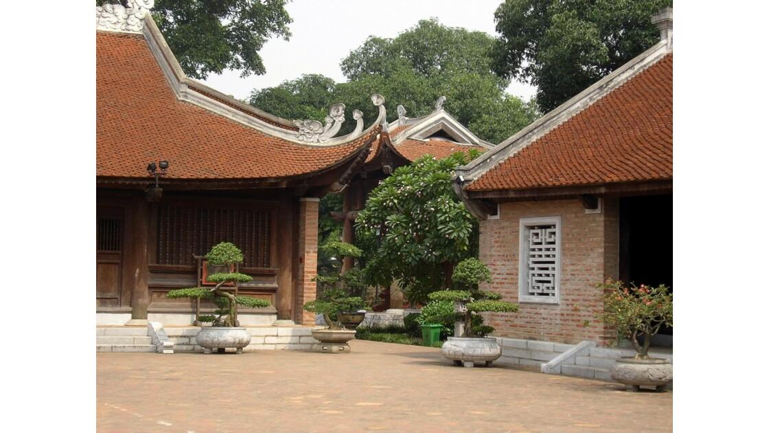 Le temple de la littérature à Hanoï.