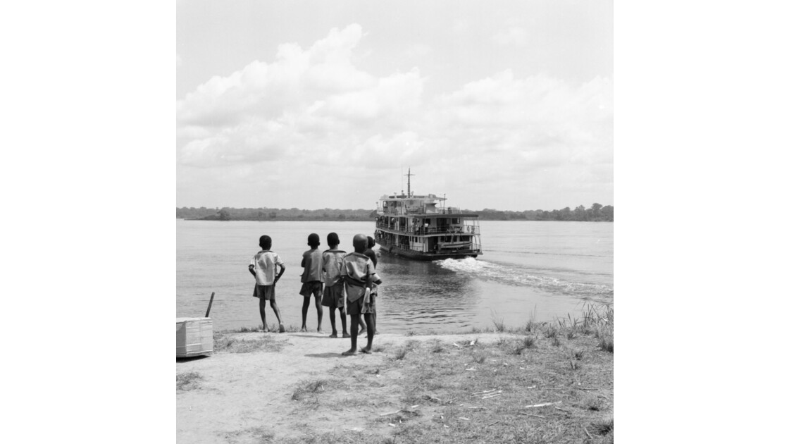 Congo 70 Impfondo le départ de Ville de Nagbé 4
