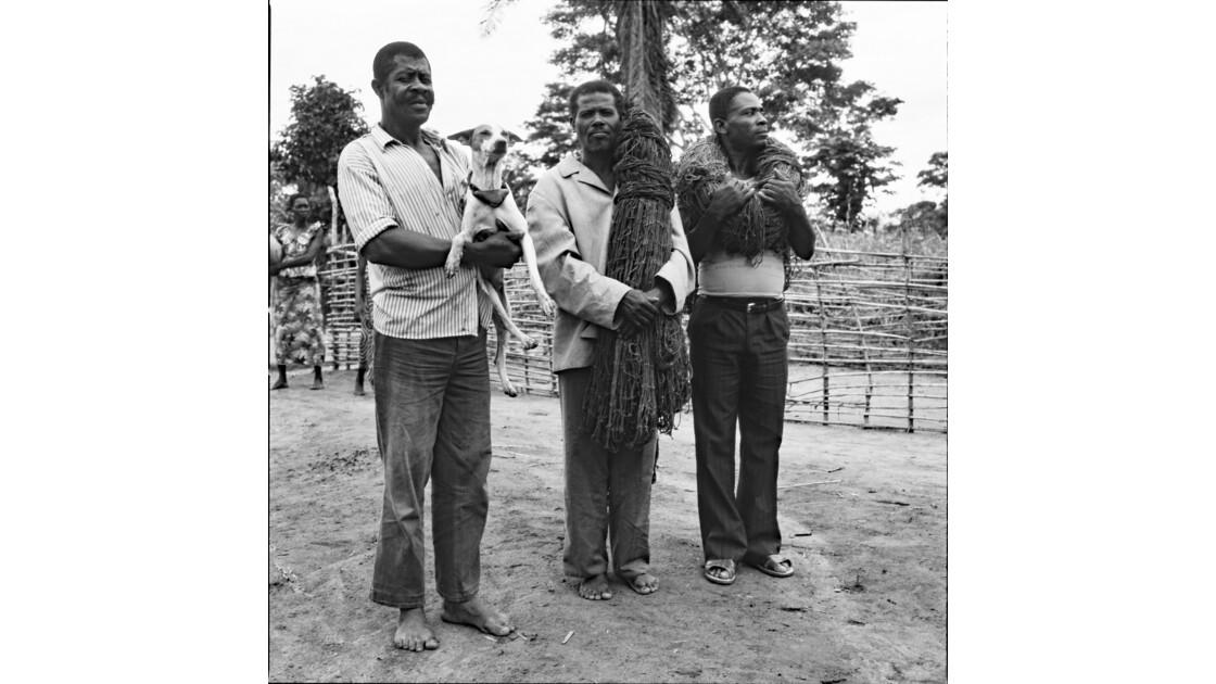 Congo 70 Etoumbi Départ pour la chasse au filet 3