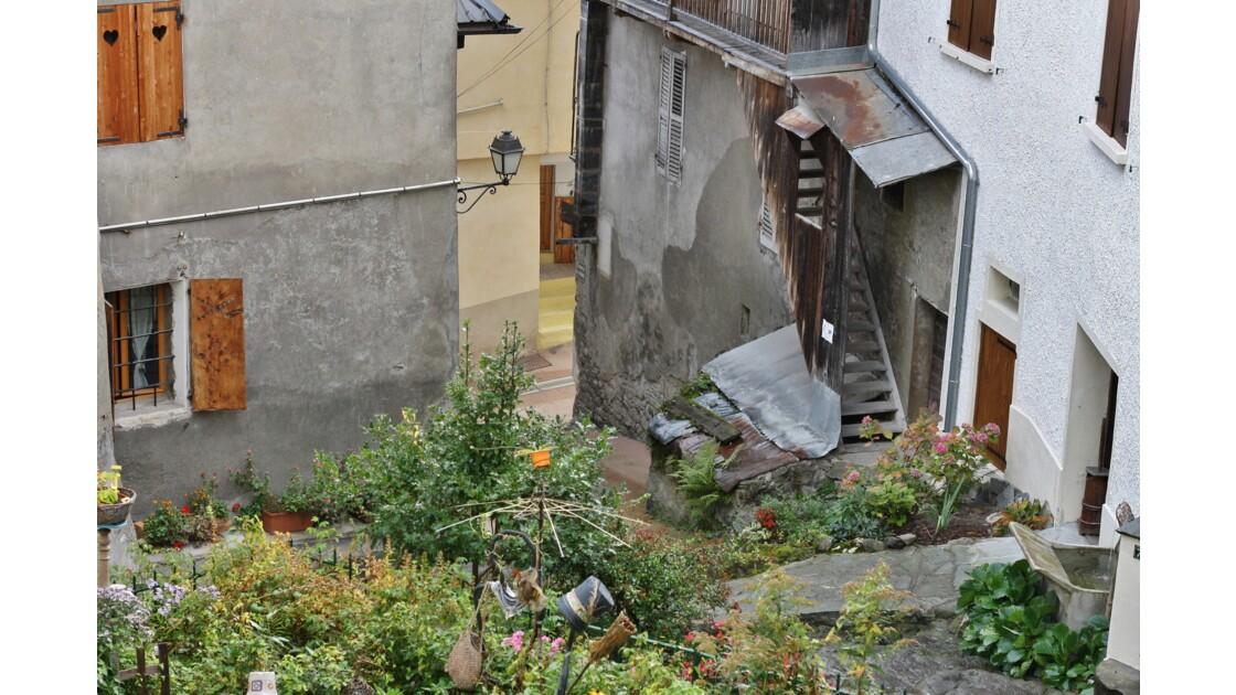Un jardin villageois