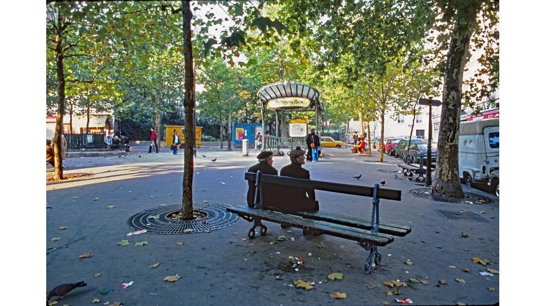 Paris 79 métro « Abbesses » 2