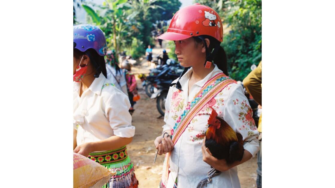 marché de Hoang Su Phi