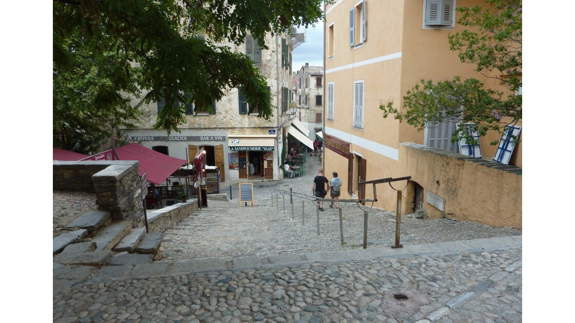 Corte (Corti), ville haute - Corse