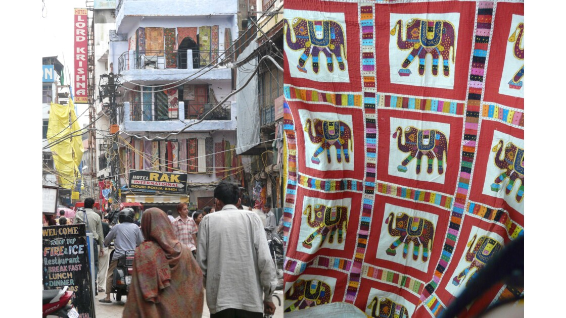 Les rues de Pahar Ganj
