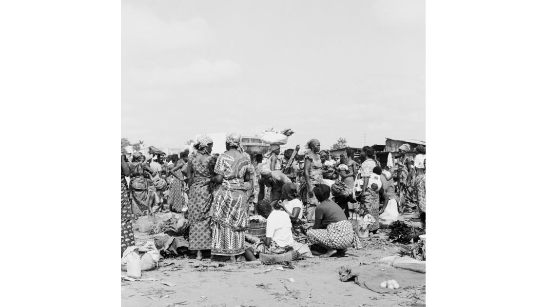 Congo 70 Brazzaville Le marché Total de Bacongo 9