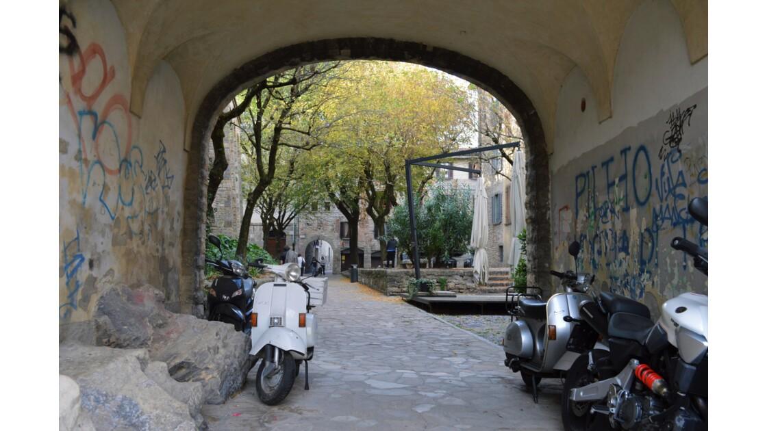 Vespa in Bergamo