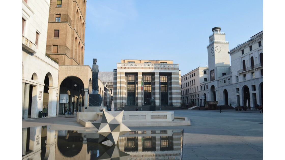 Piazza della Vittoria à Brescia