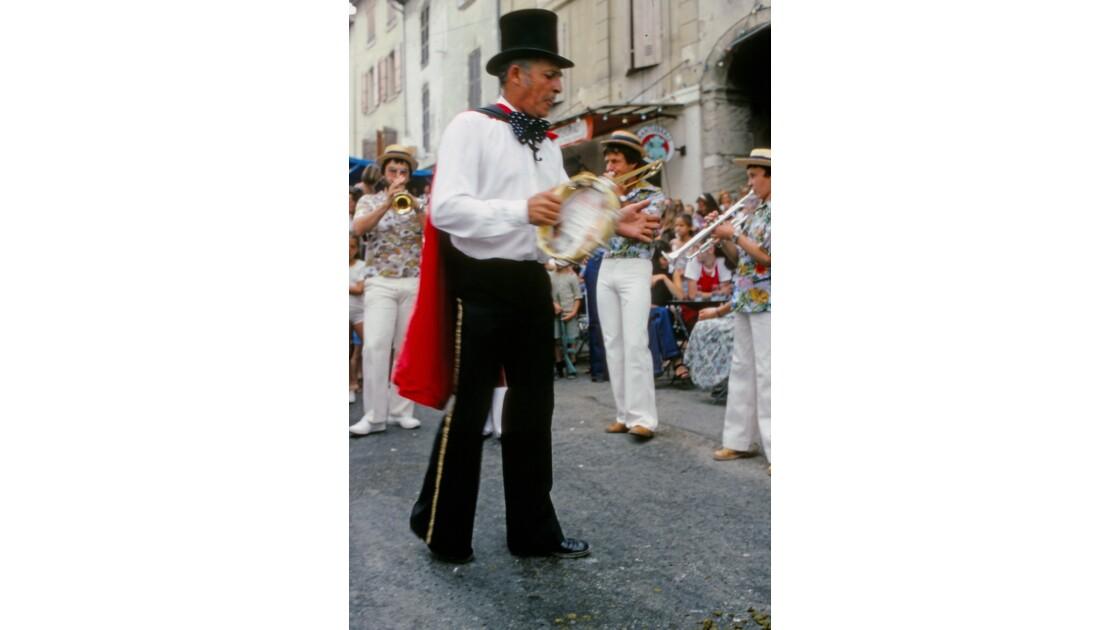 Provence 1979 Eyguières fête votive 23
