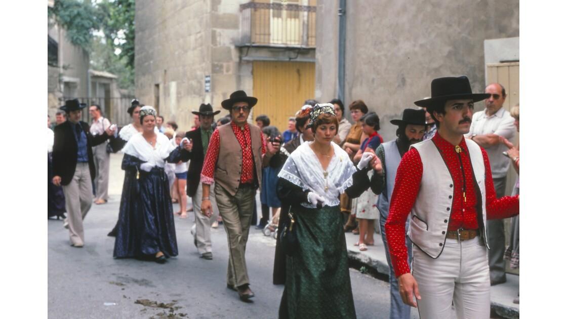 Provence 1979 Eyguières fête votive 24