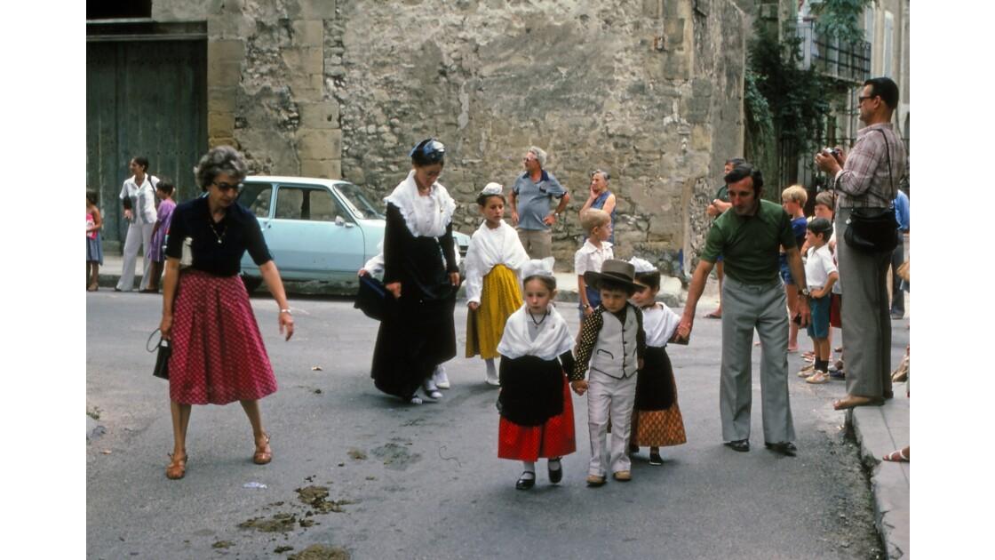 Provence 1979 Eyguières fête votive 27