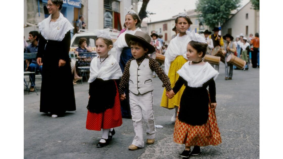 Provence 1979 Eyguières fête votive 28