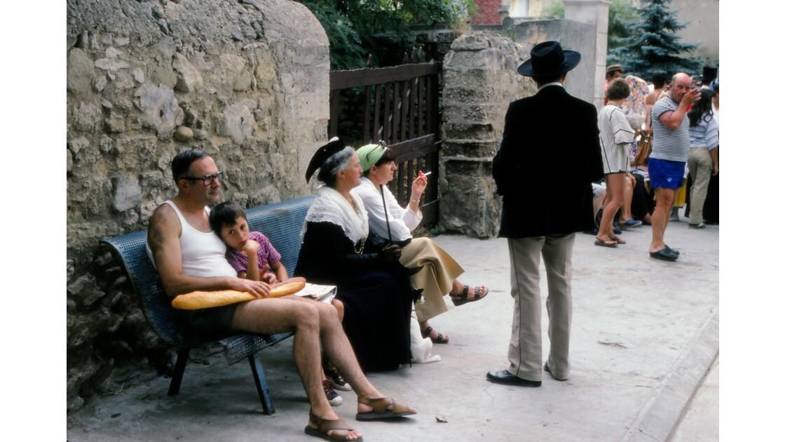 Provence 1979 Eyguières fête votive 8
