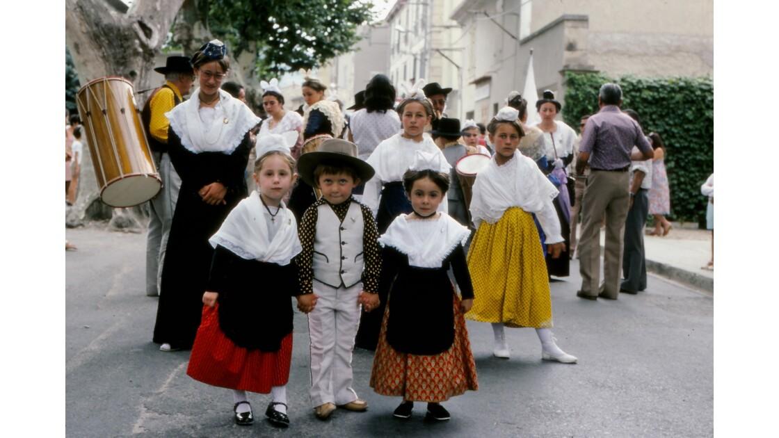 Provence 1979 Eyguières fête votive 9