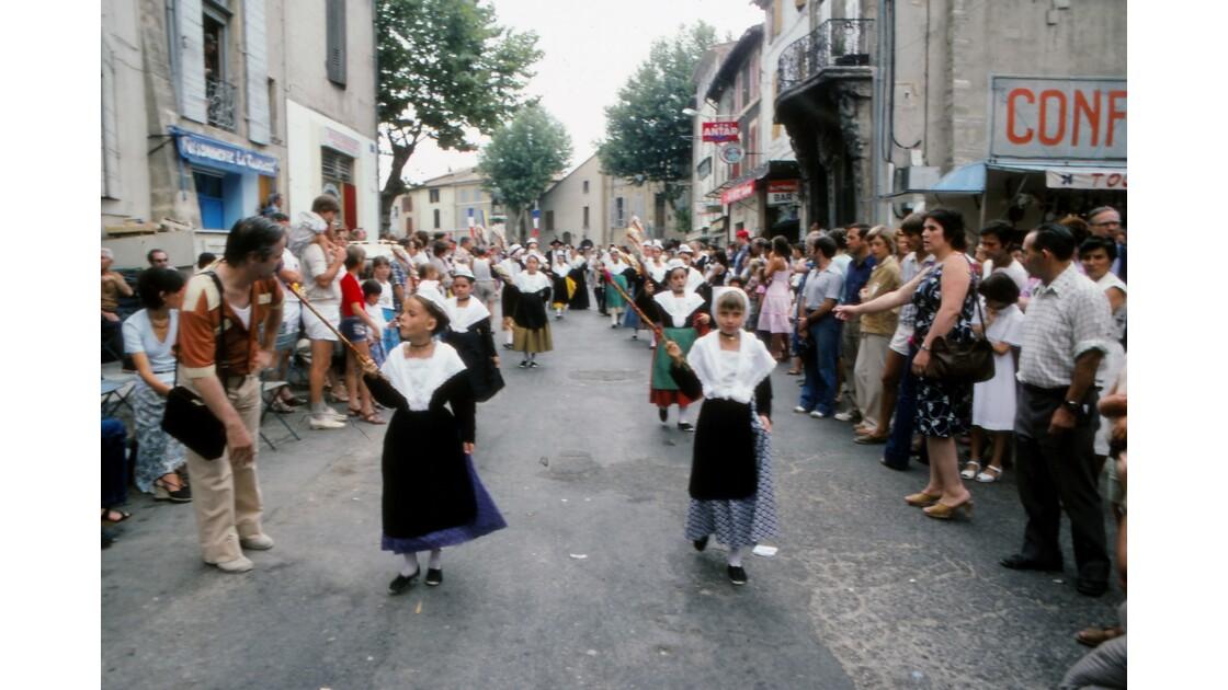 Provence 1979 Eyguières fête votive 10
