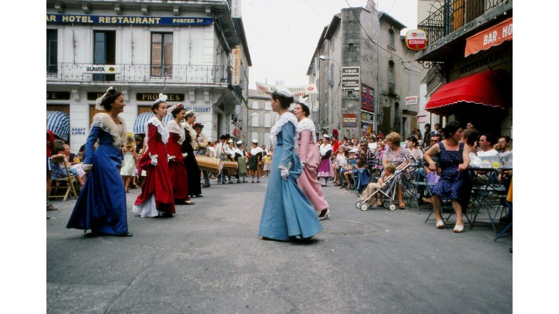 Provence 1979 Eyguières fête votive 11