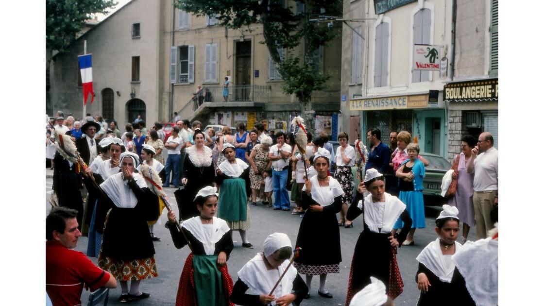 Provence 1979 Eyguières fête votive 12