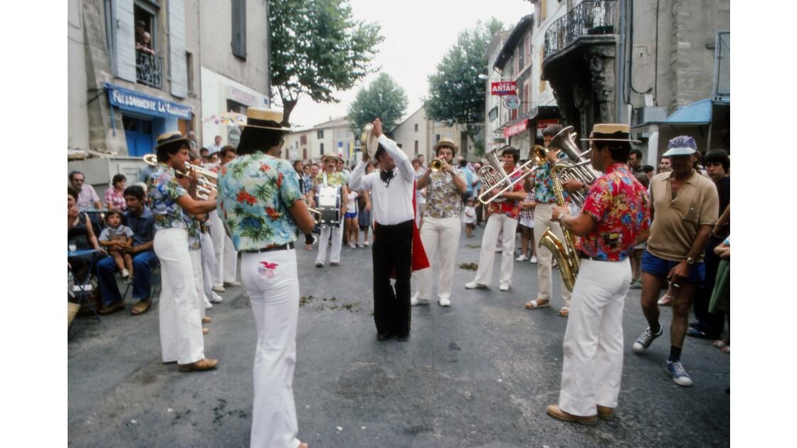 Provence 1979 Eyguières fête votive 14