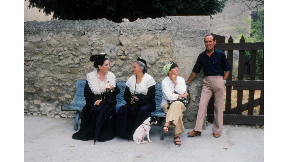 Provence 1979 Eyguières fête votive 15
