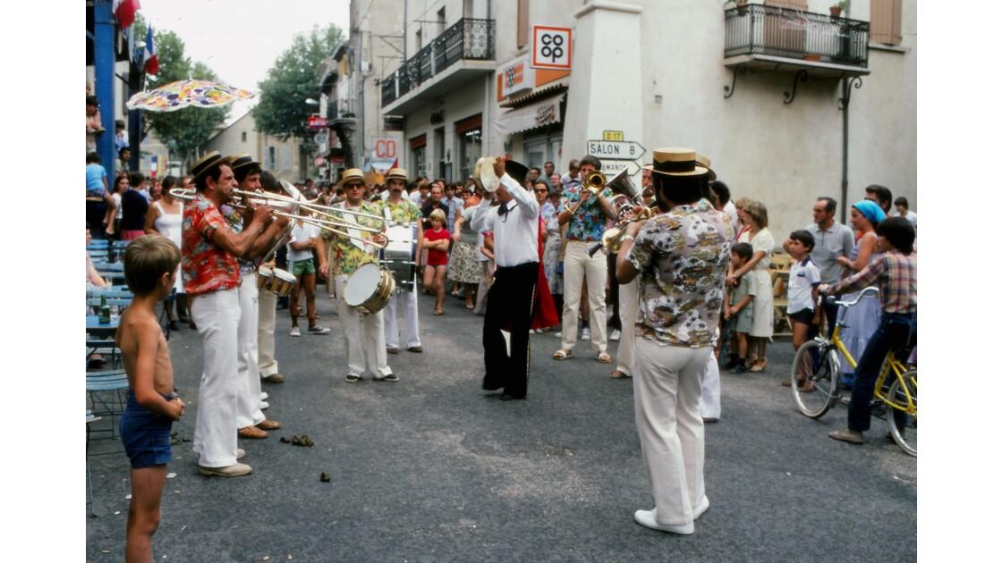 Provence 1979 Eyguières fête votive 16