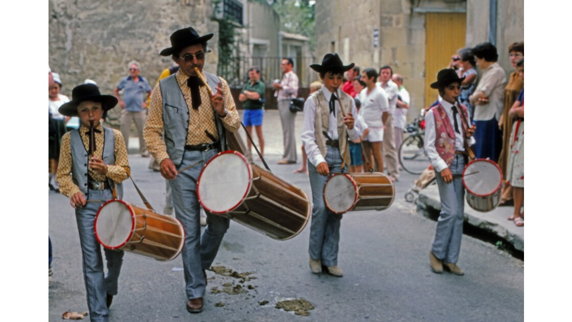 Provence 1979 Eyguières fête votive 17