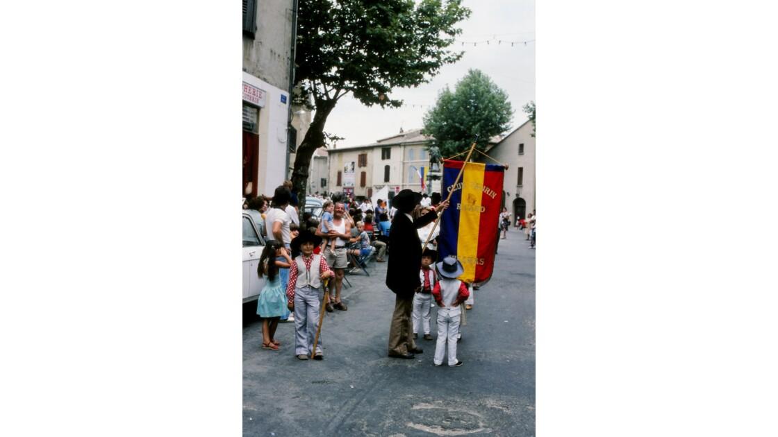 Provence 1979 Eyguières fête votive 18