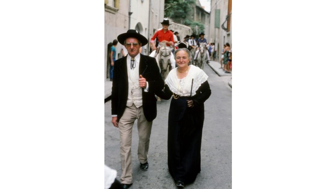 Provence 1979 Eyguières fête votive 19