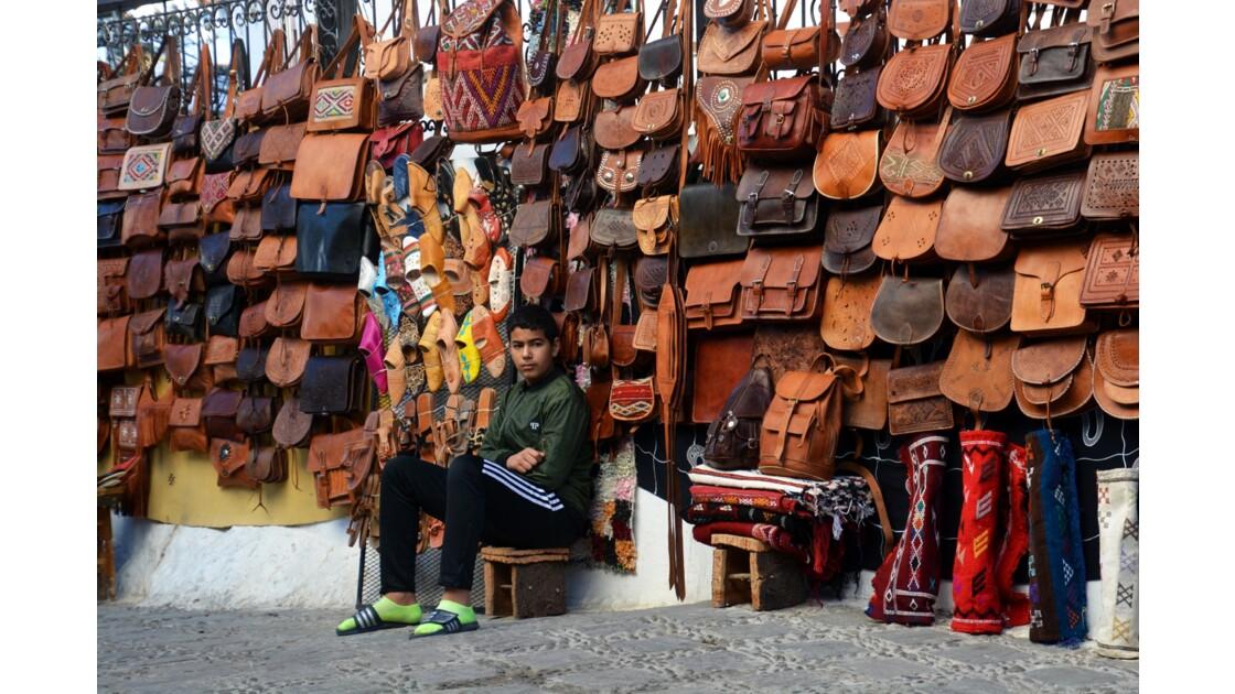 vue de Chefchaouen Maroc