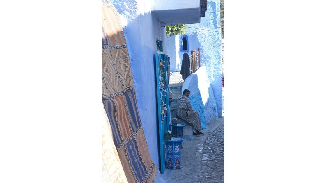rues de Chefchaouen Maroc