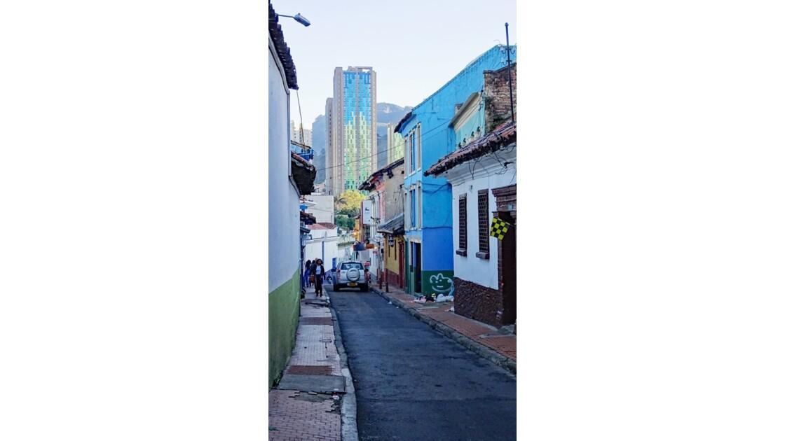 Colombie Bogota petit matin à La Candelaria 5