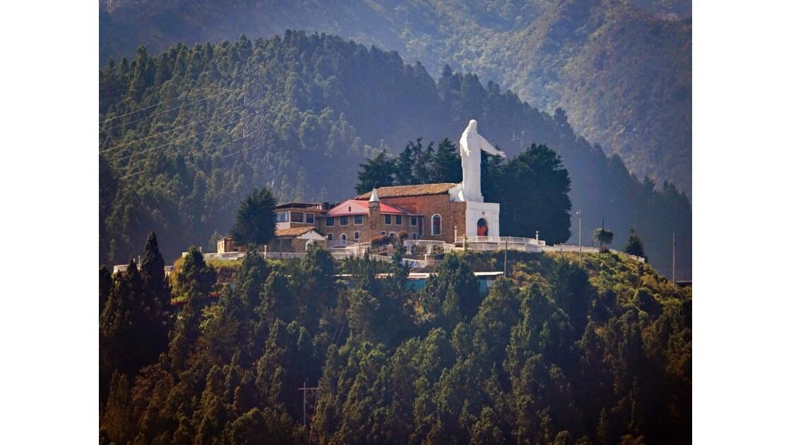 Colombie Bogota Cerro de Guadalupe vu du Cerro Monserrata 2