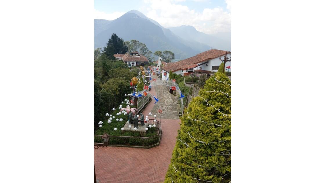 Colombie Bogota Cerro Monserrate Chemin de croix 1
