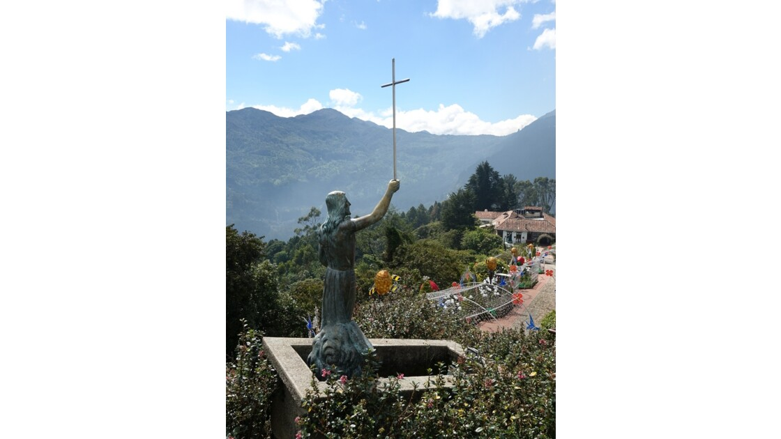 Colombie Bogota Cerro Monserrate Chemin de croix 2