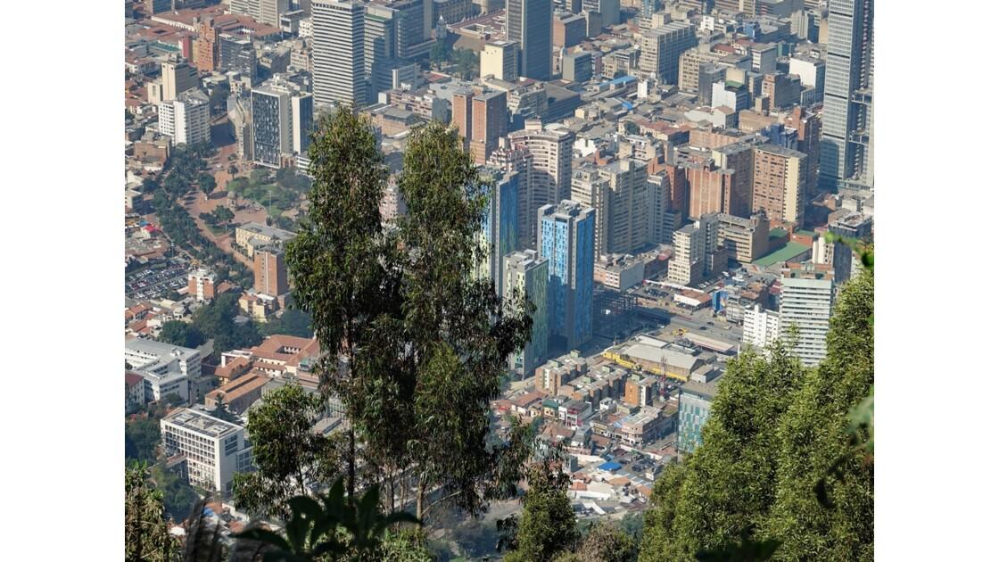 Colombie Bogota vue du Cerro Monserrate 3