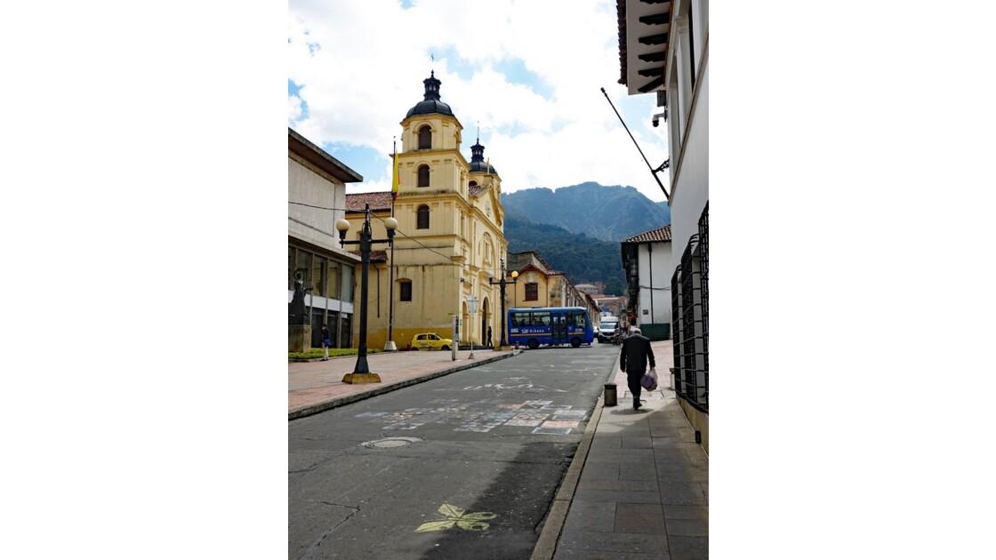 Colombie Bogota Iglesia de la Candelaria 1