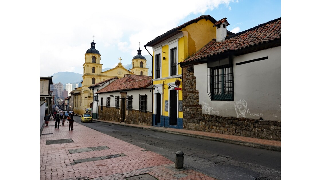 Colombie Bogota Iglesia de la Candelaria 2