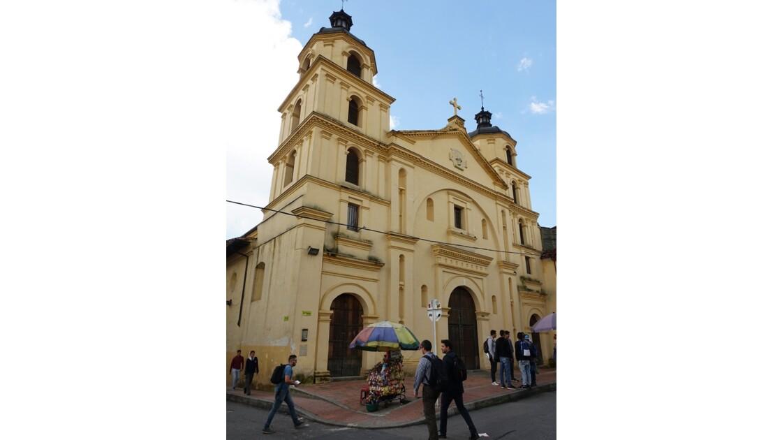 Colombie Bogota Iglesia de la Candelaria 3