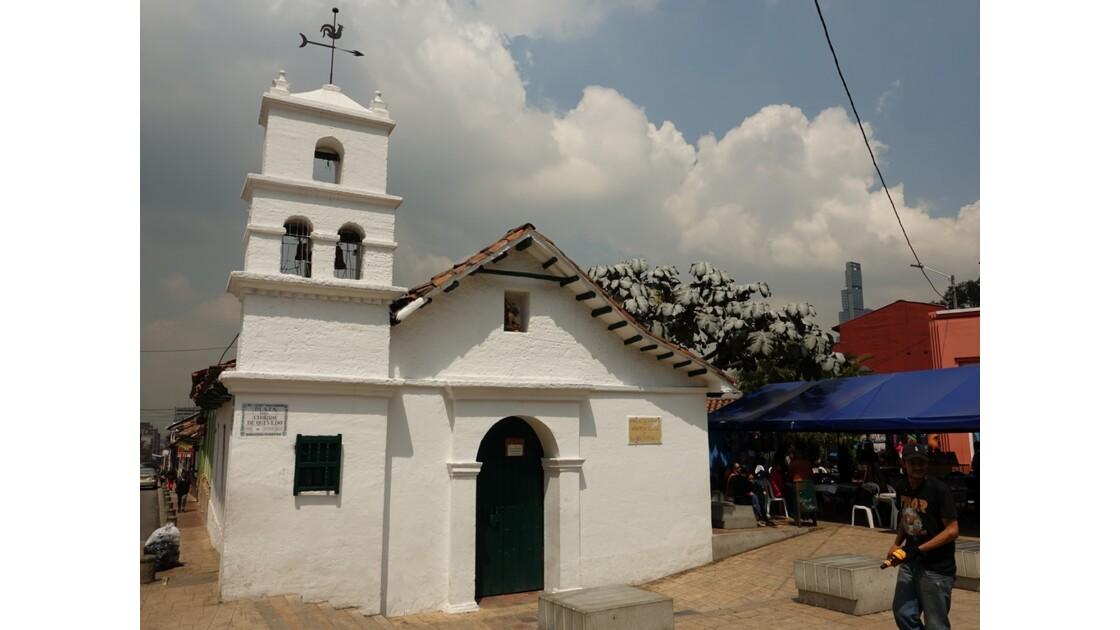 Colombie Bogota Ermita de Humilladero